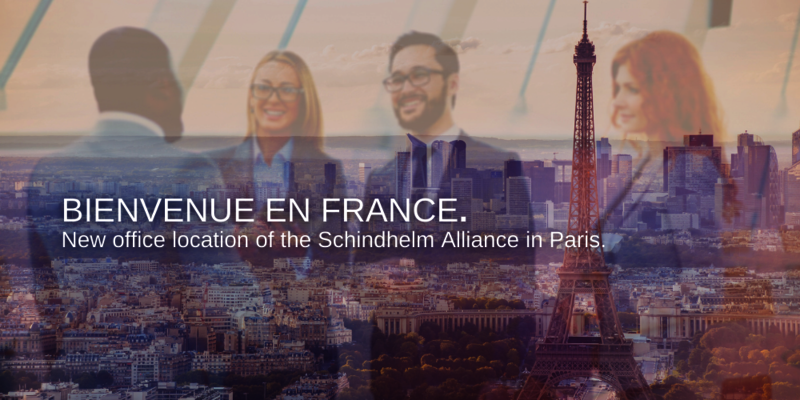 PARIS - new office location of the Schindhelm Alliance